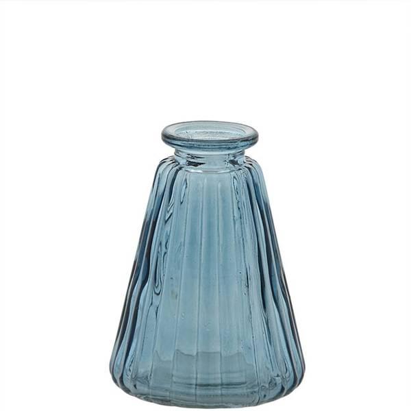 Bilde av Mini vase Cone Blue